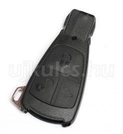 Mercedes 3 gombos kulcsház (régebbi)